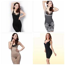 Wholesale Bamboo Shapewear - Woman Bamboo Charcoal Sculpting Slimming Underbust Shapewear Corset Shaper Body Suit Waist Tummy Shaper S-XL YYA136