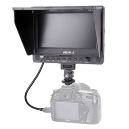 Wholesale China Output - 7'' Viltrox DC-70EX HD Clip-on HDMI SDI AV Input Output Camera Video LCD Monitor Display for Canon Nikon Pentax Olympus DSLR