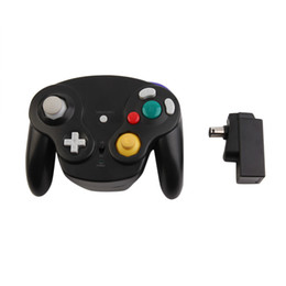Wholesale Controller Gamecube - Wireless Bluetooth Wifi 2.4GHz Gamepad Portable 10M Gaming Gamer Controller Joystick For Wii for Nintendo GameCube NGC