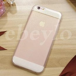 Wholesale Visual Case - 9 Color, Glitter Case, New Arrival For Apple. Back Case. I5 I6 6+ Shiny Case. Change From Different Visual Angle