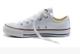 Wholesale Navy Blue Chucks - 2018 star big Size 35-45 High top Casual Shoes Low top Style sports stars chuck Classic Canvas Shoe Sneakers Men's Women's Canvas Shoes