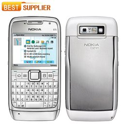 Wholesale Mobile Accessories Package - 2016 Time-limited Limited Symbian 128mb Original E71 for Nokia Mobile Phone Gps Wi-fi 3.2mp 3g Unlocked Cell free Shiping Simple Package