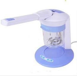 Wholesale Wholesale Facial Steamer - New Mini Facial Steamer Face & Hair care Salon Ozone Table Pro hait beauty machine