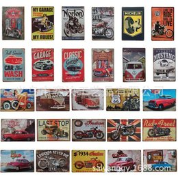 Wholesale Korean Car Styling - looking for the trip car tin poster sign Bar hot Cafe deco poster 8x12 inch (20x30cm)