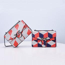 Wholesale School Bag Birds - Bird adornment cross body bags Fashion chain shoulder bags for school leather messenger bag for women