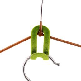 Wholesale Magic Hanger Clothes Closet Organizer - 500pcs (10pcs bag) Home Creative Flocking Hook Magic Hanger Organizer Space Saver Closet Clothes Organizer Anti-slip Mini Hook (Mixed Color)