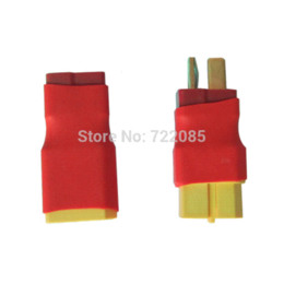 Wholesale Set Xt - With Tracking Number Set of 2PCS No Wires Connector XT60   XT-60 to T-Plug Converter Kit Adapter(Different Types)
