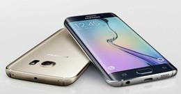 samsung 4g telefone Rabatt Überholter S6-Rand Samsung Galaxy S6 Edge / S6 64-Bit-Octa Core 4G LTE Android 5.0 Lollipop 2560 * 1440 Pixel Handy
