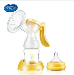 Wholesale Women Pump Nipples - 2016 Avent Breast milk pumps baby nipple suction nipple pump beb women Feeding Manual Breast pump