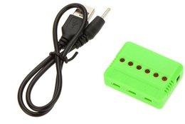 1 pcs 3.7 V Lipo Batterie Adaptateur Chargeur USB Interface 4 en 1/5 en 1/6 en 1 pour Syma X5 X5C X5C-1 ? partir de fabricateur
