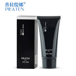 Wholesale Eye Mud - PILATEN Tearing style Deep Cleansing purifying peel off the treatment black mud of black heads remover 60g