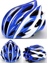 radhelm rot weiß blau Rabatt Neue Radfahren Männer Frauen Helm EPS Ultraleicht MTB Mountainbike Helm Komfort Sicherheit Zyklus Fahrradhelm Freie Größe
