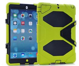 Canada Pour iPad air2 3 en 1 Robot Defender Pour Ipad Air Mini 2 Hybride Souple En Silicone Dur PC Couverture Offre