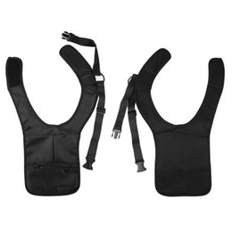 Wholesale Tactical Security - Wholesale-Men Security Holster Strap Messenger Bags Underarm Shoulder Armpit Bag Phone Pouch Burglarproof Anti Theft Waist Tactical Bag