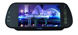 Canada Moniteur de rétroviseur de voiture MP5 de miroir de voiture MP5 OEM TFT LCD pour SD USB FM pour caméra de stationnement de DVD TV cheap tft lcd tv monitor Offre