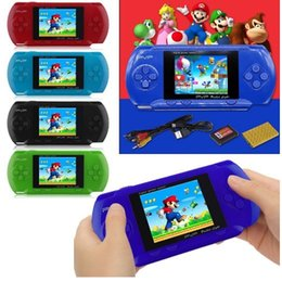 Wholesale Nes Lcd - Arrival Game Player PVP 3000 (8 Bit) 2.5 Inch LCD Screen Handheld Video Game Player Consoles Mini Portable Game Box Also Sale PXP3