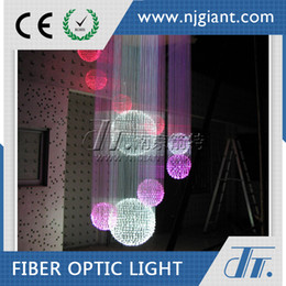 Wholesale Optic Fiber Cheap - 2016 New Led Fiber Optic Star Kit Cheap Fiber Optic Crystal Chandelier r Fiber Sauna Led