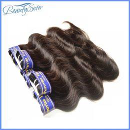 Wholesale Wholesale Mocha Hair - Mocha Hair Product Guess Fashions Women's hair Peruvian Virgin Hair Body Wave Style Mixed 6Bundle Unprocessed Human hair Extensions 7a Grade