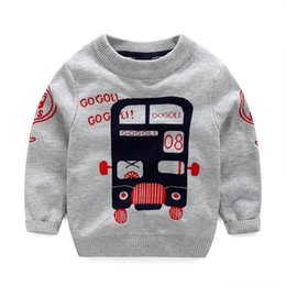 Wholesale Hot Winter Cardigan Children - Hot Car Patter Two-double Children Cardigan Sweaters Baby Clothes Kids Clothing 2016 Autumn Sweater Coat Child Boys Crochet Cardigan