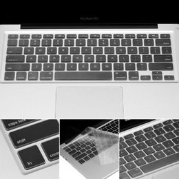 Wholesale 17 Laptop Skin - Wholesale New US model Silicone Keyboard Cover Skin Protector for Apple For Macbook Pro 13 15 17 Air 13 Notebook Protector Film