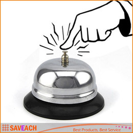 Wholesale Desk Bells - New Desk Kitchen Hotel Counter Reception Restaurant Bar Ringer Call Bell Service With retail box Free Shipping
