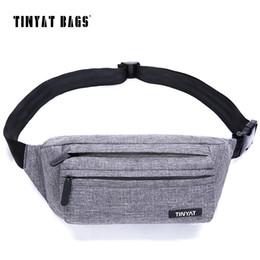 Wholesale Super Canvas Bag Pack - Men Male Waist Bag Super Light Belt Pack Bag New Adjustable Shoulder Fanny Pack Phone Coin Bag Travel Pack Bags T251
