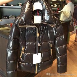 Wholesale French Parka - M15 New Style French luxury brand parkas for women winter jacket Women Ladies anorak coats hood parka women jackets