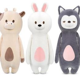 Wholesale Comfort Day - 28cm Kawaii animal plush dolls kids stuffed toys for children soft comfort baby toys Cows rabbit fox teddy bear