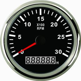 Contagiri RPM Tachimetro con contaore per auto camion barca yacht 0-3000 giri / min 85mm con retroilluminazione da luci led per contatori fornitori