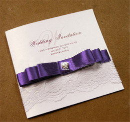 Wholesale Embossed Fold Card - 2016 European Style New Wedding Or Evening Invitations Handmade Personalised Embossed High Quality Party Wedding Invitations Cards