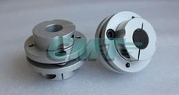 Novo Quadro Modelo de ligas de Alumínio Único acoplamento de Diafragma Servo apto e motor de passo do eixo-acoplador D = 44 L = 34 D1D2 em 10-16mm de Fornecedores de acoplamentos elásticos