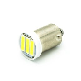Wholesale Dome Light Dc 12v - Ba9s T4W 3-7020 SMD LED White Lights led bulb Side marker Dome Festoon Reading Lamp License Plate Lamp DC 12V