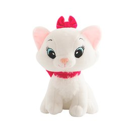 Wholesale Marie Cat Toy - 1pc 20cm The Aristocats Cat Plush Toys Marie Cat Plush Dolls Kawaii Soft Cartoon Animals toys for Children