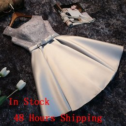 Wholesale bridesmaid discount - Bridesmaid Dresses In Stock 48 Hours Fast Shipping Short Bridesmaids Gowns Cheap Formal Dress In discount