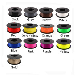 Wholesale 3d Printer Filament Makerbot - News 17 colors 3D printer filament PLA Filament 1.75mm 1kg plastic Rubber Consumables Material for Createbot MakerBot UP Mendel