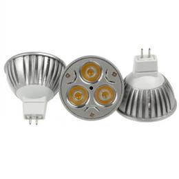 Wholesale Light Bulb 24v 3w - LED Bulbs Promotion!Retail High Power CREE 3W 3x1W Dimmable GU10 MR16 E27 LED Light Lamp Spotlight LED Bulb 14318-7 AC 85-265V DC12V