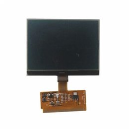 Wholesale A6 Lcd Vdo - ALKcar 1pc Good quality New LCD glass with flex connector for AUDIcar A3 A4 A6 TT VDO VW