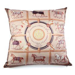 "Wholesale green black throw cushions - Nordic Royal Luxury Emulation Silk Home Decorative Pillowcases Square Decorative Cushion Cover Throw Pillow Cover 18""*18"" Capas De Almofada"