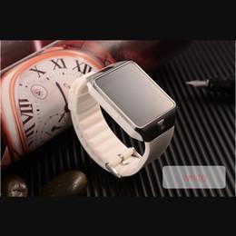 Wholesale Dz Watch Box - DZ 09 Smart Watch DZ09 wear smartwatch With SIM 3g gsm Bluetooth pedometer For Samsung android IOS With retail box.