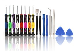 Wholesale Iphone 4s Repair Set - 16 in 1 Repair Tools Screwdrivers Set Kit For Mobile Phone iPhone 6 6S 5S 4S 3GS iPad Samsung