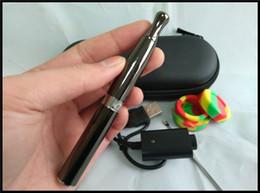Wholesale Cigarette Dips - wax vaporizer dip pen electronic cigarette wax concentrate smoking pen oil dab concentrate quartz coil heating vape pen e cig set