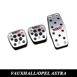 Wholesale Gas Brakes Clutch Pedals - Vauxhall Opel Astra h j gtc Mokka Insignia Car Clutch Gas Brake Pedal Aluminum Steel Accelerator Pedals Cover Auto Accessories