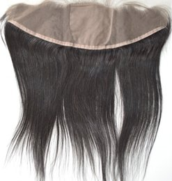 2019 chiusura frontale completa indiana Chiusura anteriore in pizzo dritto etnico 8A con peli per capelli 13x4 chiusura frontale completa indiana economici