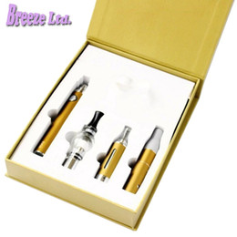 Wholesale Dhl Free Electronic Cigarette - Magic 3 in 1 Wax Vaporizer Pen Kit Dry Herb electronic cigarettes with atomizer MT3 Glass atomizer EVOD Battery DHL free shipping