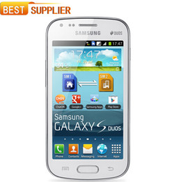 Wholesale Duos S7562 - 2016 Sale Direct Selling S7562 Original Samsung Galaxy S Duos S7562 Dual Sim Cards 4.0'' Wifi Gps 5mp Camera Unlocked Cell phone