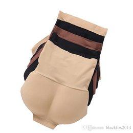 Wholesale High Waist Underpants - S-XXL Sexy High Waist Underpants Padded Panties abdominal curl Seamless bottom Panties Beautify Buttocks Push Up Lingerie Women