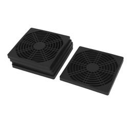 Wholesale Fan Filter Mesh - Wholesale- GTFS-5pcs 120mm Computer PC Dustproof Cooler Fan Cover Dust Filter Mesh