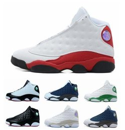Wholesale Cheap Sport Fashion - Fashion Cheap and New retro XIII 13 Basketball Shoes 13 Colors Men Sports Shoes US Size 8-13 Free Shipping