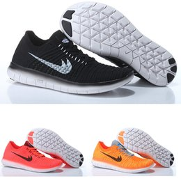 Wholesale 2016 free run factory outlet color black mens sports running shoes sneakers men s trainers shoes Cheap Best