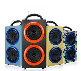 Wholesale Luxury Mini Bluetooth Speaker - Portable Wireless Bluetooth Speakers Outdoor Sports Subwoofers Handsfree with Mic Support TF Card FM Radio Fashion Luxury Loud Speaker 63-YX